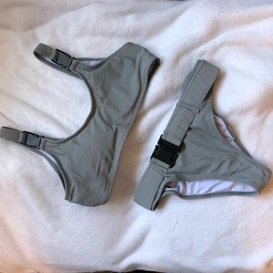 Other - Grey buckle bikini